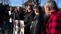 Wittelsheim - manifestation contre les barrières tueuses