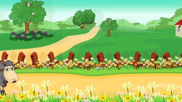 Ba Ba Black Sheep Nursery Rhyme | Cartoon Animation Song For Children