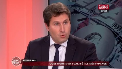 Crise agricole : intervention de Mathieu Darnaud sur le plateau de Public Sénat