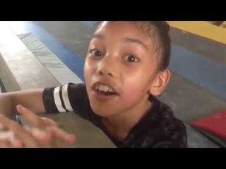 Gymnastics Training by Naura Part 2