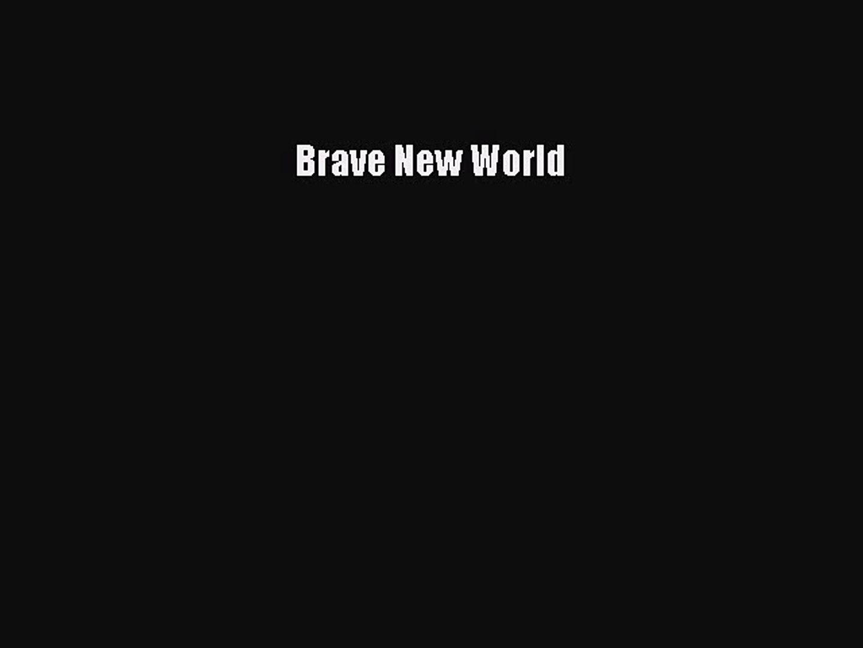 [PDF Download] Brave New World [Read] Full Ebook
