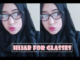 #61 Hijab Tutorial - Natasha Farani For Glasses (Si Kacamata)