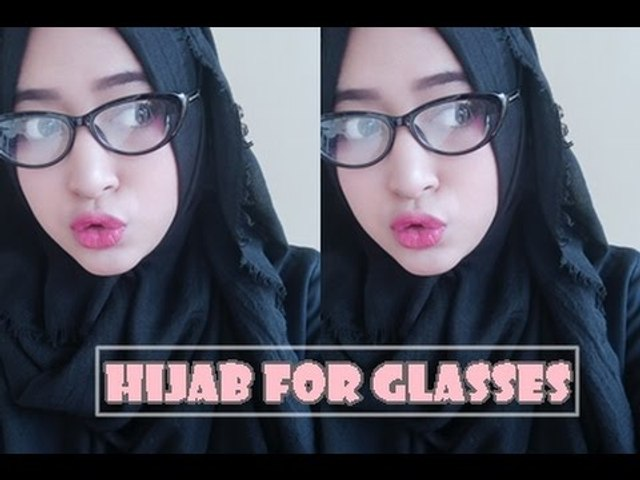 #61 Hijab Tutorial - Natasha Farani For Glasses (Si Kacamata)