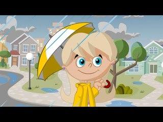 █■█ █ ▀█▀ Piosenka dla dzieci - 4 pory roku - deszcz, śnieg, wiatr i słońce  █■█ █ ▀█▀