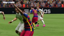 PES 2016 - UEFA Champions League Final - FC Barcelona vs Real Madrid - Penalty Shootout