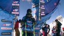 Run of Fabio Studer - Chamonix-Mont-Blanc - Swatch Freeride World Tour 2016