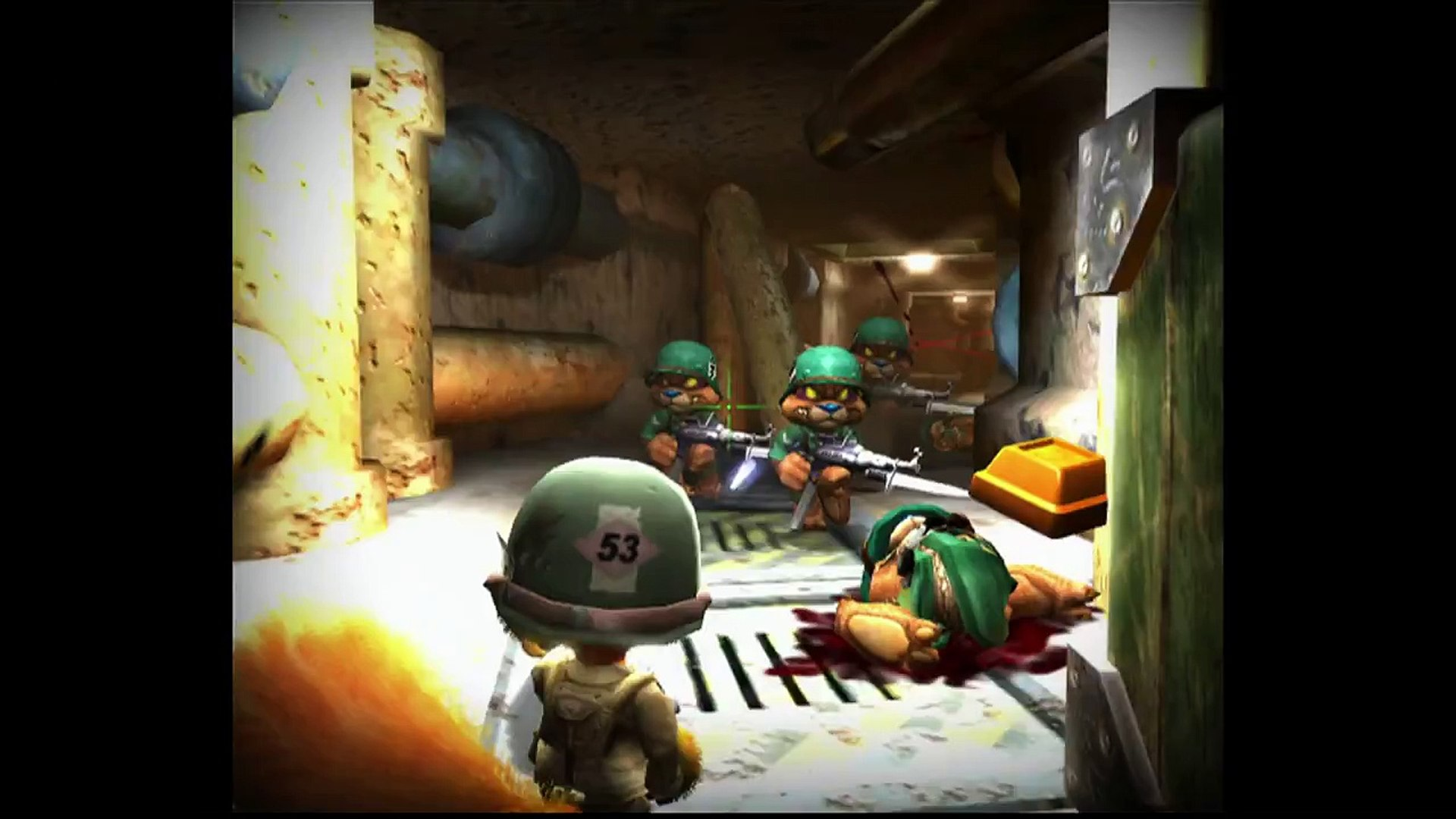 Conker Live Reloaded Xbox Its War D Day Parody