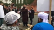 Mirza Nawaz Gujarkhanvi protest speech at the Kashmir day in front of Indian embassy denmark