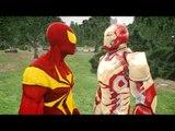 IRON SPIDERMAN VS IRON MAN