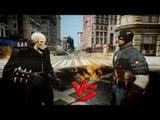 Captain America vs Ghost Rider - EPIC BATTLE - Grand Theft Auto