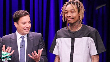 Wiz Khalifa Performs 'Bake Sale' On Jimmy Fallon