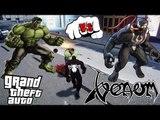 VENOM VS HULK   VENOM (SPIDERMAN) FIGHTS THE INCREDIBLE HULK   EPIC BATTLE   GRAND THEFT AUTO IV