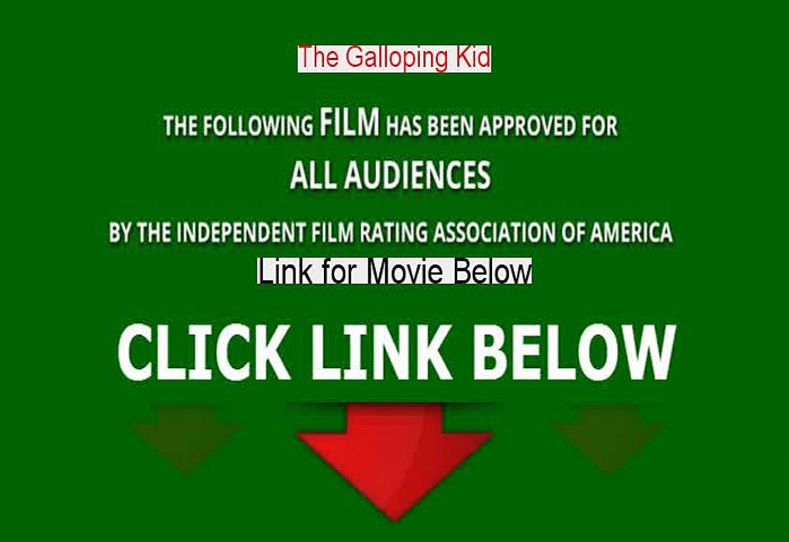 Stream The Galloping Kid Movie Free [1932]