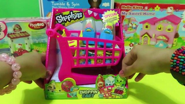 Shopkins Shopping Cart Storage Review