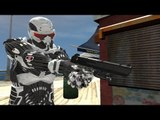 GRAND THEFT AUTO IV: Crysis Nanosuit + MW2 Desert Eagle