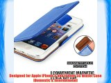Funda Para iPhone 5s - Mulbess Funda De Piel Tipo Cartera Para Apple iPhone 5s y iPhone 5 Wallet