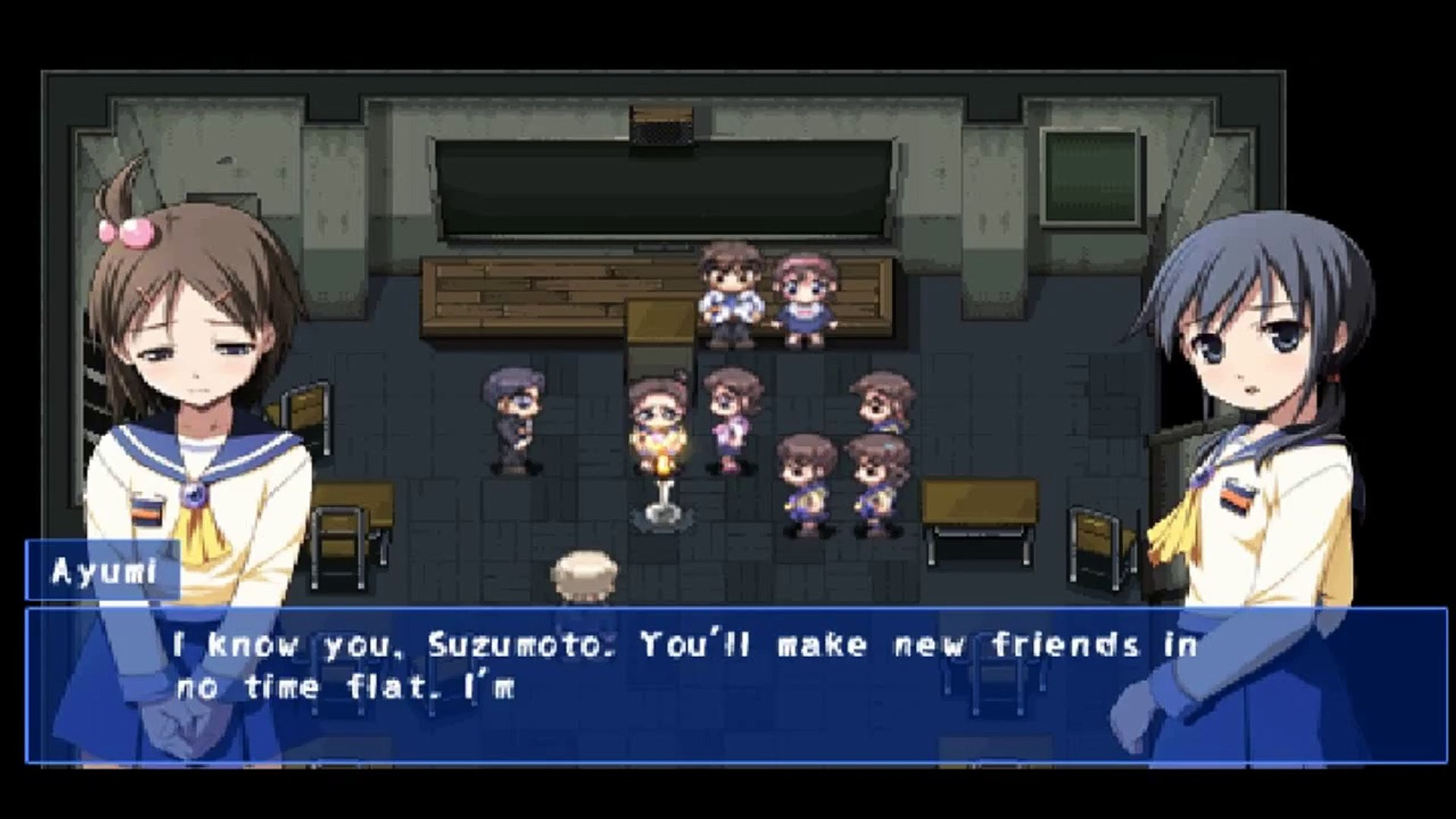Corpse Party Psp Walkthrough Part 1 Dailymotion Video