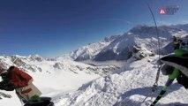 GOPRO Winning run Eva WALKNER- Chamonix-Mont-Blanc - Swatch Freeride World Tour 2016