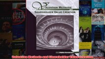 Download PDF  Valuation Methods and Shareholder Value Creation FULL FREE