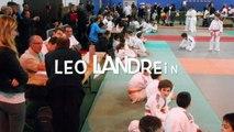 Judo - premiers combats de Léo