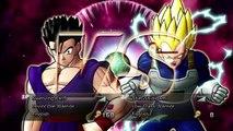 Dragon Ball Raging Blast 2 - Dragon Ball Raging Blast 2 Vegeta Super Saiyan 2 vs Gohan Super Saiyan 2 enhanced-TheDonovan137