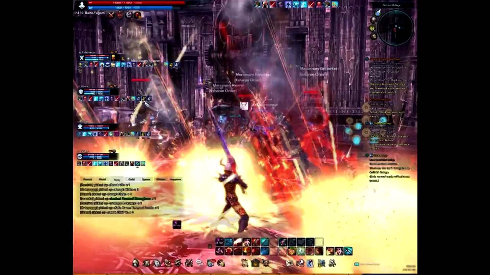 TERA - Level 39 Slayer - TWO GIRLS & ONE CUP??? - Full Game Play
