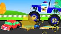 KZKCARTOON TV-Monster Truck Stunt - Monster Truck Videos For Kids - Monster Trucks For Children
