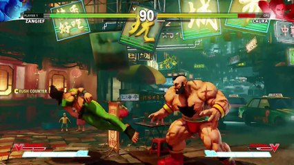 SFV  Character Introduction Series - Zangief de Street Fighter V