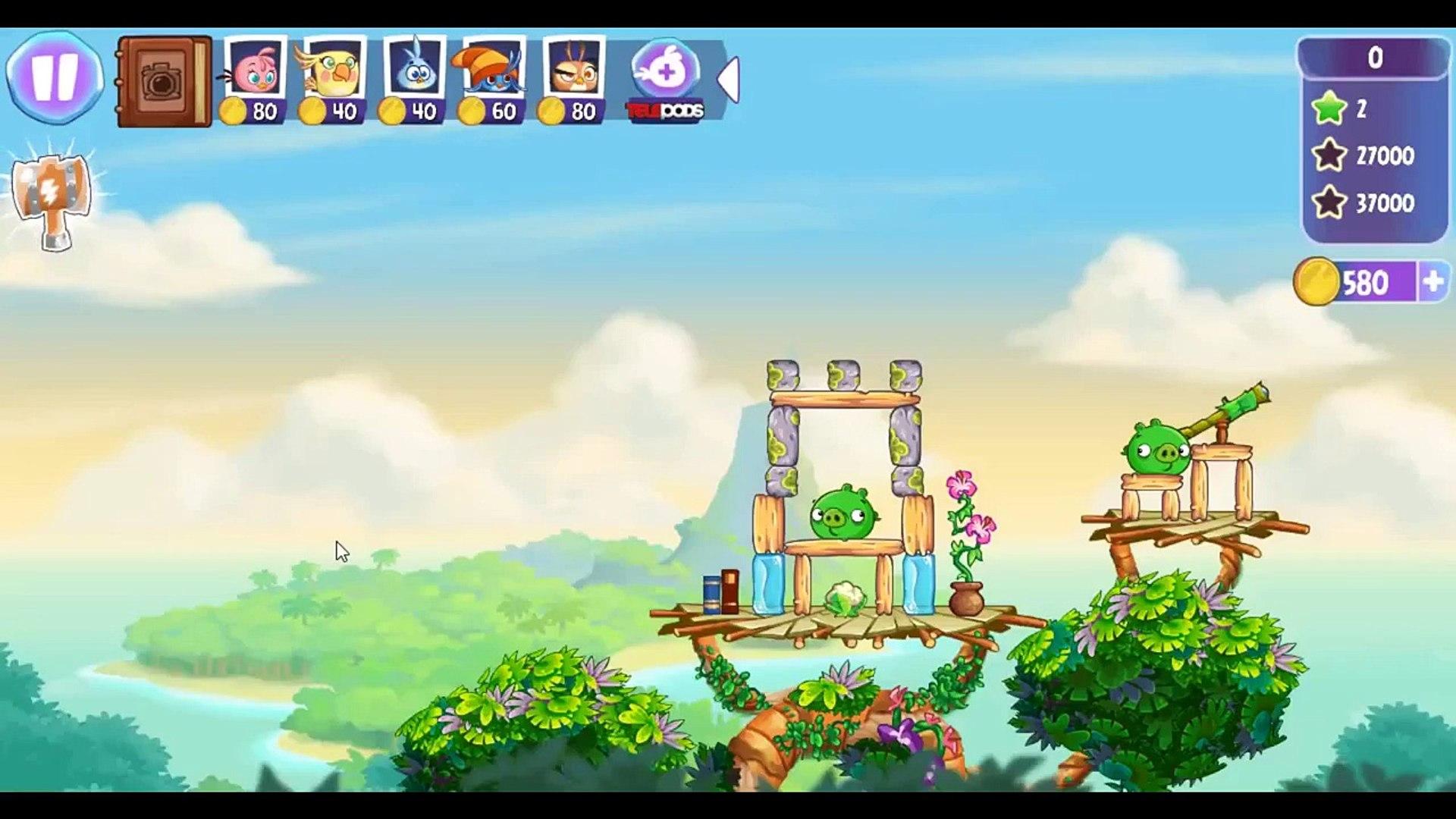 Angry Birds Stella Level 49 ★★★ Walkthrough Episode 1