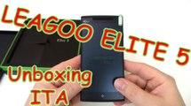 LEAGOO Elite 5 unboxing e recensione, smartphone 5.5 HD ips dual sim quad core 2gb ram 16gb rom 4000mah battery