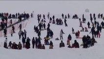 Bakan Yılmaz, Yıldız Dağı Kış Sporları Turizm Merkezi Açılış Törenine Katıldı