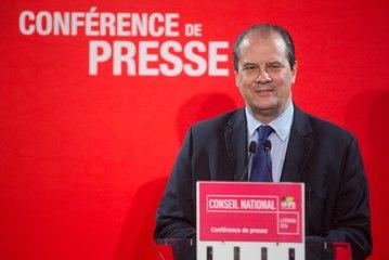 Conférence de presse de Jean-Christophe Cambadélis, suite au Conseil national du 6 février 2016