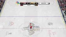 NHL 15 Flip Backhand Shootout Goal