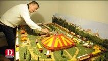 Un passionné recrée le cirque Pinder à petite échelle