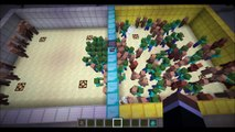 Minecraft Mob Battle - Zombie vs NPC Villagers   Mob vs Mob
