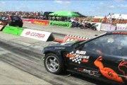 Honda Civic 2.0 Turbo Vs. Ford Fiesta RS Turbo Drag Race 1