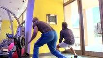 This is how F1 Car Drivers Train their Body! - Nico Rosberg - Formula 1 driver training in Monaco