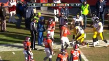 Fitzgerald Toussaints 15-Yard Gain Sets Up His Own Goal Line TD! | Steelers vs. Broncos | NFL