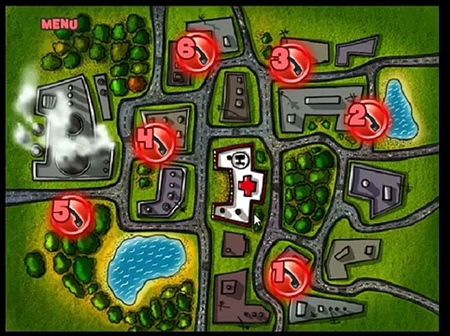 бешеная скорая помощь | игра доедь до больницы | game Ambulance Frenzy