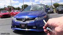 2008 Honda Civic SI Sedan / SI Mugen Start Up, Road Test, Comparison and In Depth Review