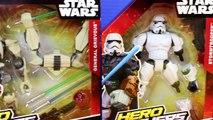 Disney Star Wars Hero Mashers Stormtrooper Darth Vader Anakin Skywalker General Grievous G