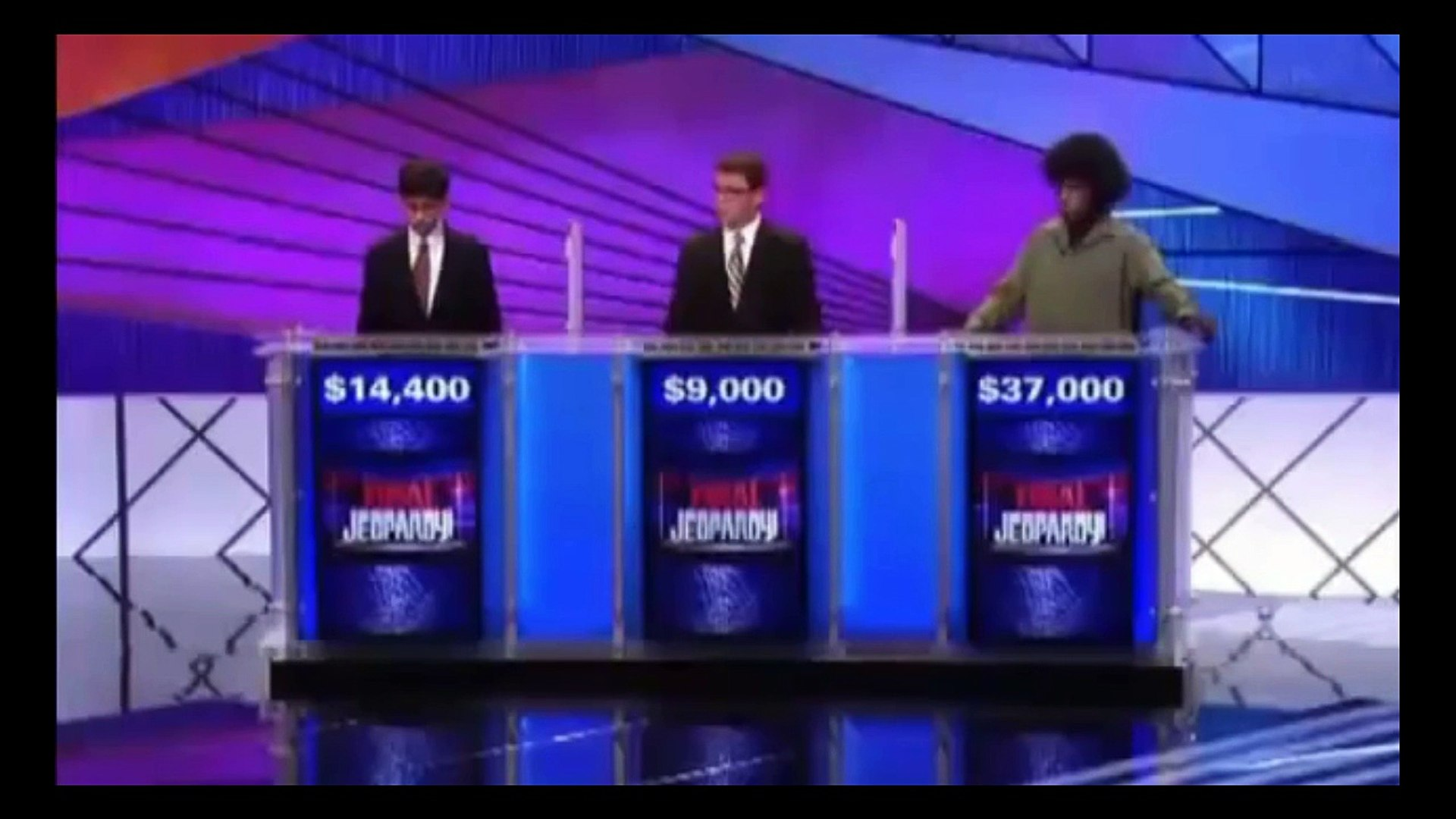Best Ever Answer in Jeopardy- Jeopardy Game Show