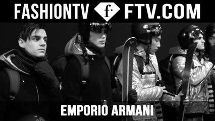 Emporio Armani FW 2016 Menswear | FTV.com