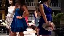 Modelos peleando en la pasarela | Fighting models on the catwalk