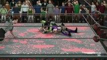 WWE 2K16 sindel v gamora