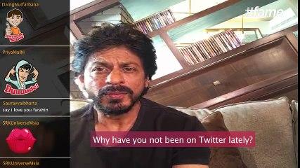 'Twitter has become too negative for me' | #SRKLiveOnFame
