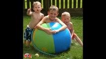 Balle à pulverisaton d'eau gonflable M2B Gonflable Inflatable water spray ball M2B Inflatable