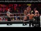 John Cena, Roman Reigns & Chris Jericho vs. Randy Orton, Seth Rollins & Kane_ Raw - 1