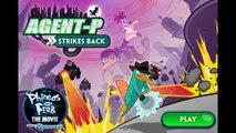 Phineas and Ferb Agent P Strikes Back Cartoon Animation Disney Movie Game Play Walkthrough