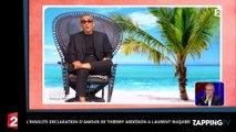 Découvrez l'insolite déclaration d'amour de Thierry Ardisson à Laurent Ruquier (Vidéo)